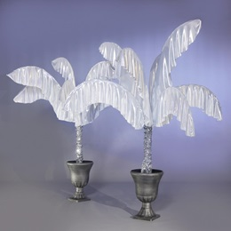 Opulent Silver Planters Kit (set of 2)