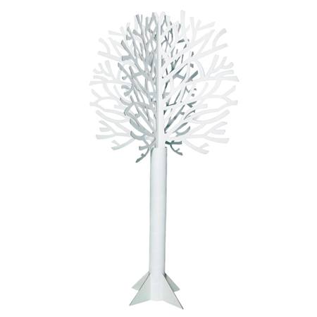 Die-cut White Tree