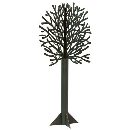 Die-cut Black Tree