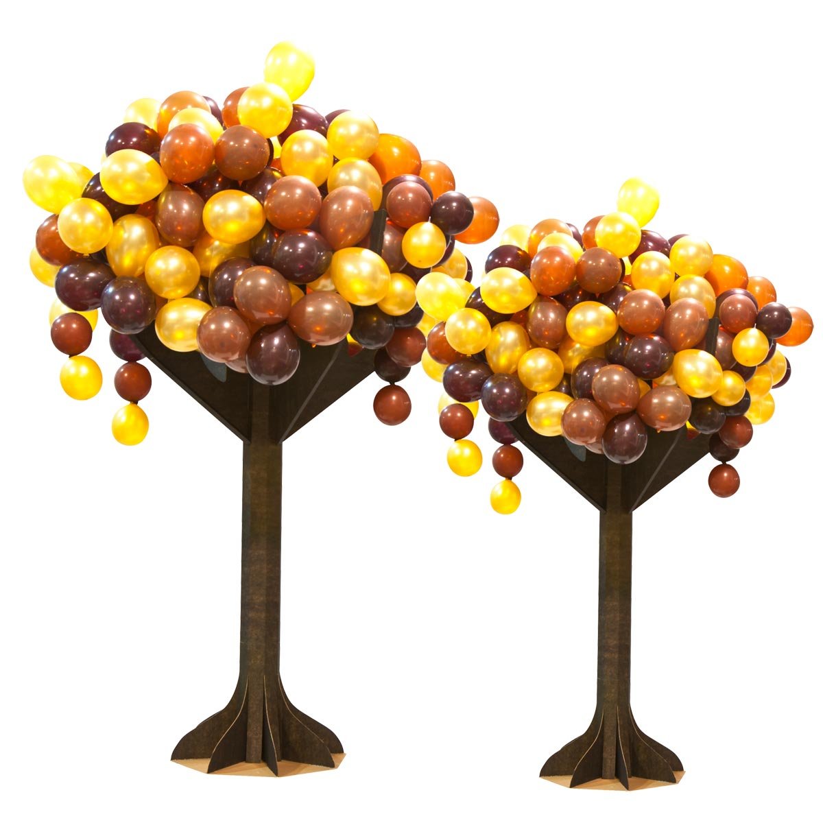 Fall Colors Trees Kit (set of 2)