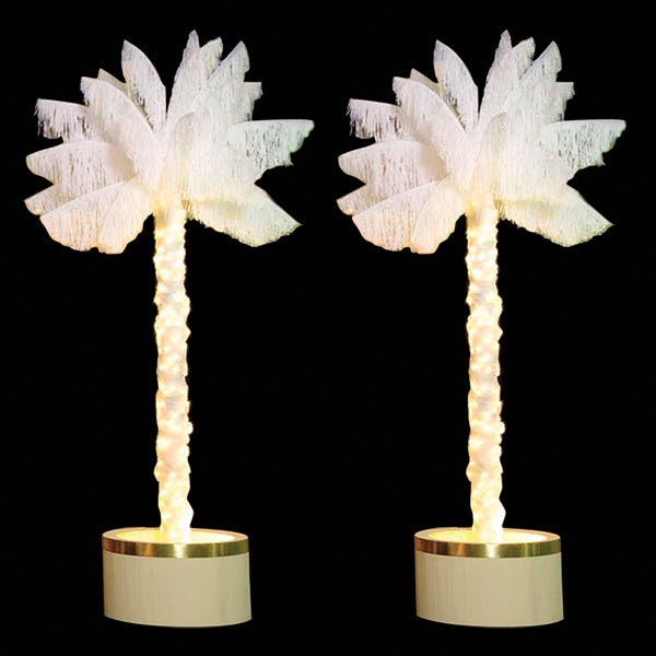 Lit Palm Trees Kit (set of 2)