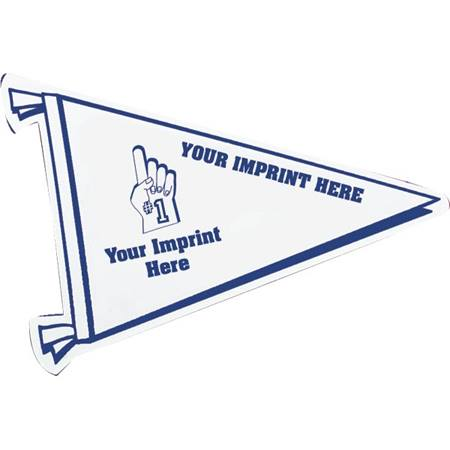 Full Color Pennant Bumper Magnet