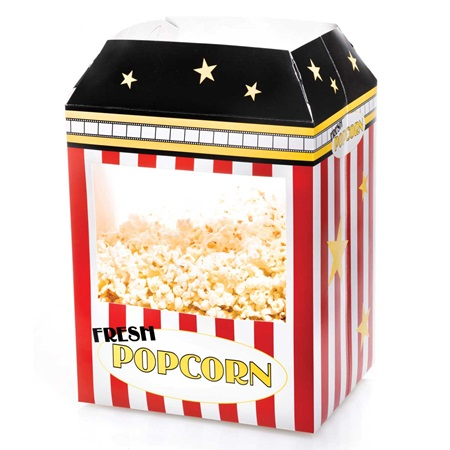 Popcorn Machine Centerpiece