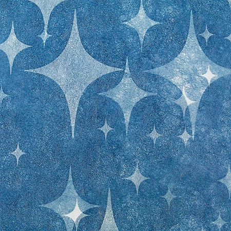 "4-Point Star Blue Gossamer, 59"" x 50 yds"