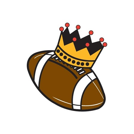 Waterless Tattoo - Football - Crown