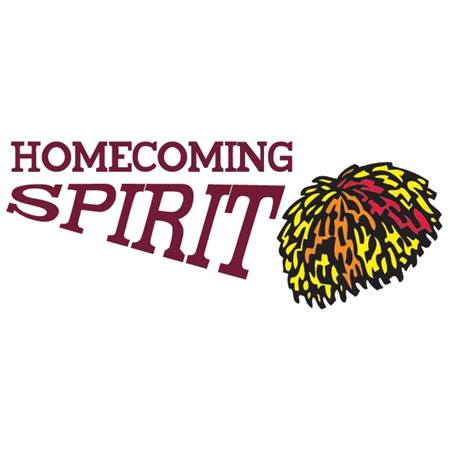 Temporary Tattoo Set - Homecoming Spirit with Pom