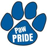 Paw Pride Temporary Tattoo - Blue