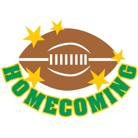 Green Homecoming Crown Temporary Tattoo