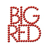 Bling  Temporary Tattoo - Big Red