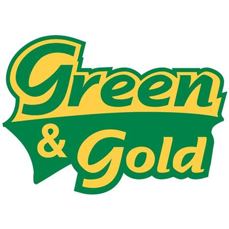 Green & Gold Temporary Tattoo – Green/Gold