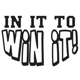 In It To Win It Temporary Tattoo