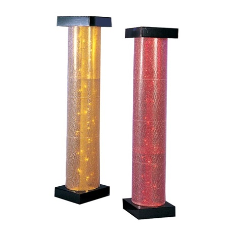 Lighted Bubble Columns - 6 ft.