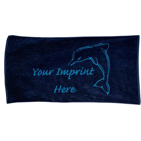 30 in. x 60 in. Large Colored Beach Towel