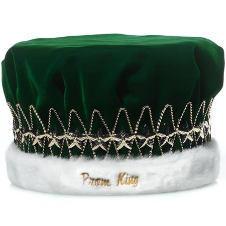 Prom King Crown with Gold Stars