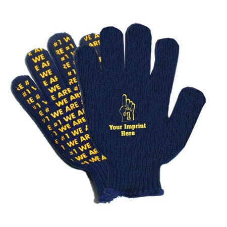 Palm Print Logo Gloves