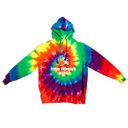Tie-Dyed Hooded Sweatshirts