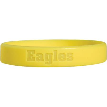 Laser Engraved Silicone Wristband – Eagles