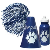 Blue/White Megaphone Set