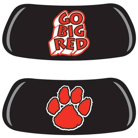 Go Big Red Paw EyeBlack Set