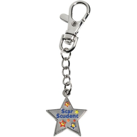 Bling Charm Clip - Star Student