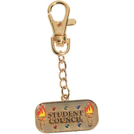 Bling Charm Clip - Student Council