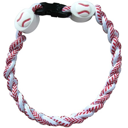 Baseball Braided Wristband