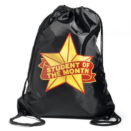 Student of the Month Drawstring Backpack