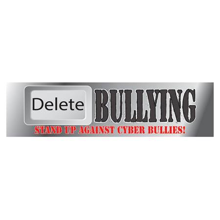 Delete Cyber Bullying Car Magnet