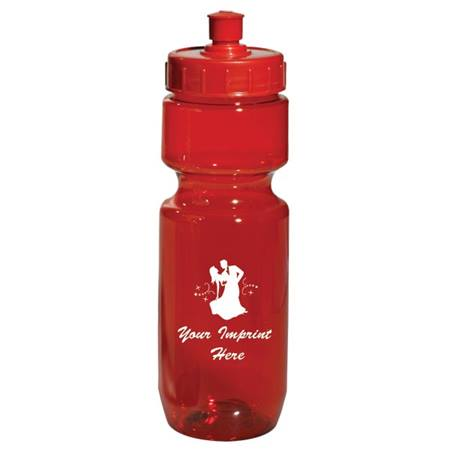 Translucent Sport Bottle with Push/Pull Lid