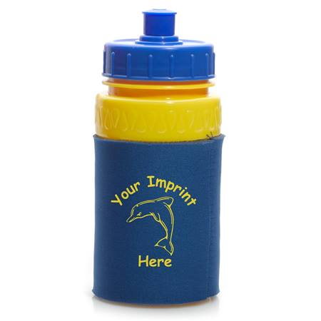 Insulated Water Bottle with Plunger Lid