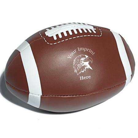 Custom Squishy Mini Football - Brown