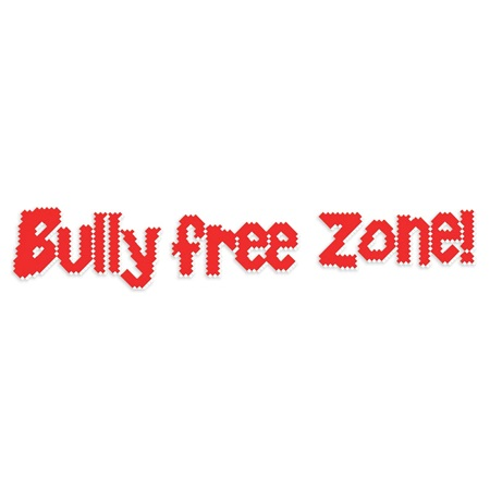 Put-in-Cups Fence Decorations - Bully Free Zone