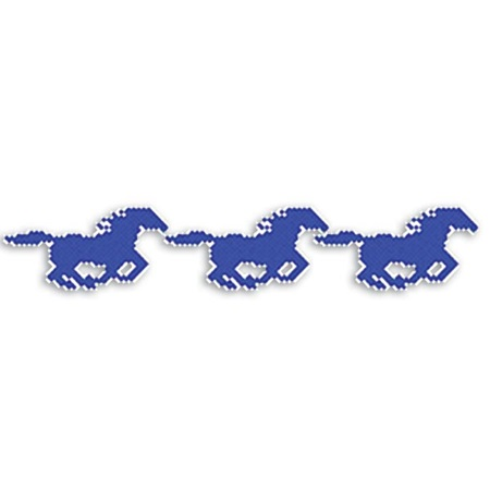 Put-in-Cups Fence Decorations - Galloping Mustang