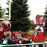 Mower and Football Player Float Kit