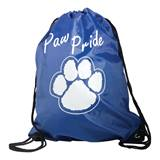 Paw Pride Backpack - Blue/White
