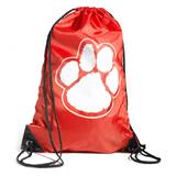 Paw Backpack – Red/White
