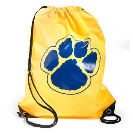 Paw Backpack – Yellow/Blue