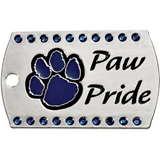 Bling Dog Tag - Paw Pride