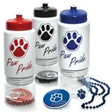 28 oz Paw Pride Water Bottle Set