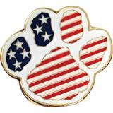 Patriotic Award Pin – Paw Flag
