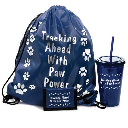 Paw Power Backpack Set - Navy
