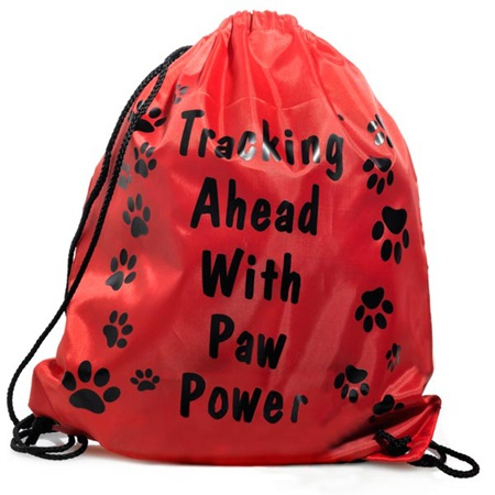 Paw Power Backpack - Red