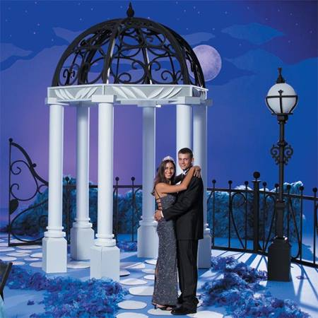 Peaceful Domed Gazebo Kit