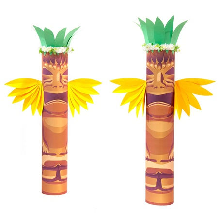 Tropical Mystique Tikis Kit - Set of 2