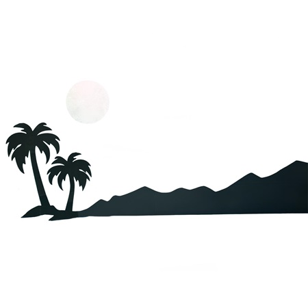 Moonlight Isle Distant Silhouette Kit