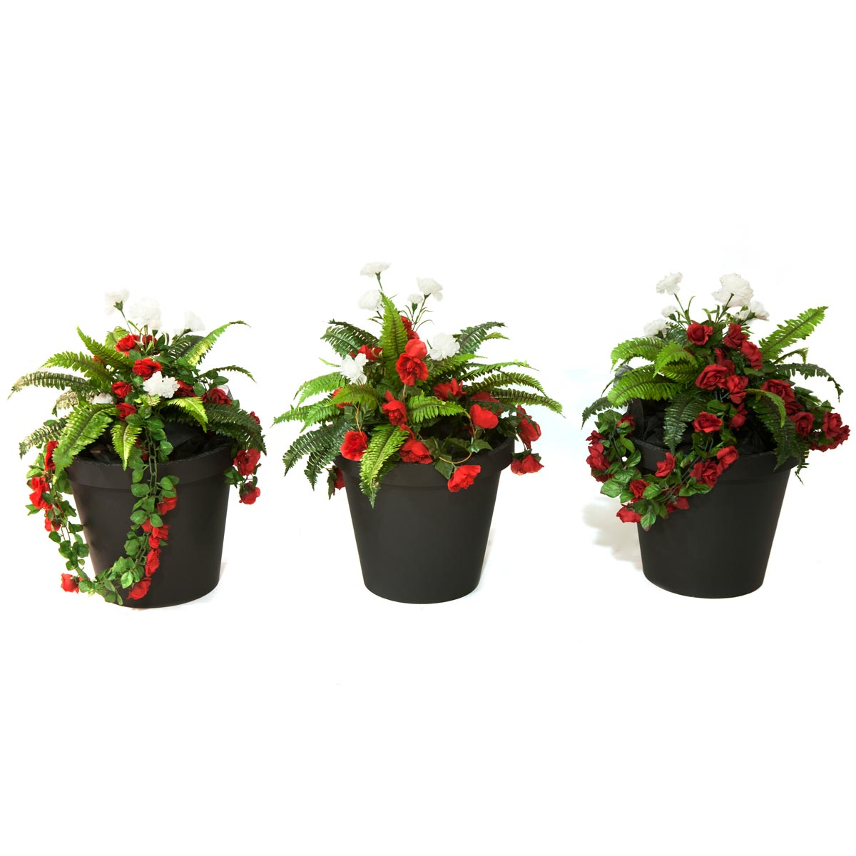 French Rose Planters (set of 3)