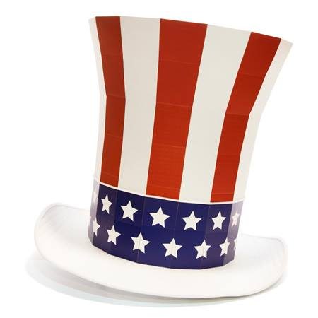 Uncle Sam Top Hat Kit