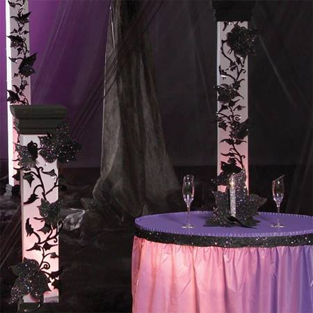 Vivid Violet Twilight Columns Kit (Set of 3)