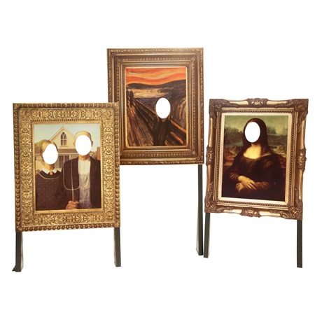 Prom Portrait Props Kit (set of 3)