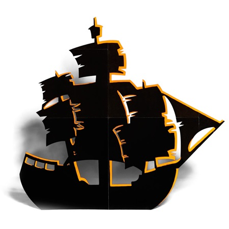 Large Ship Silhouette Kit